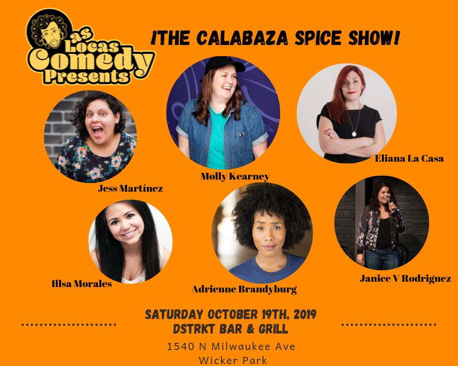Las Locas Comedy October 2019 Show