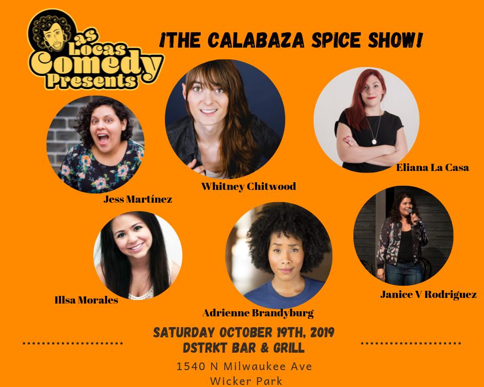 Las Locas Comedy October 2019